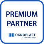 Logo Premium Partner Oknoplast -Infissi e Serramenti Fratelli Bosio Srl a Torino e Cambiano