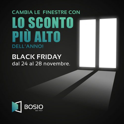 black friday infissi e serramenti